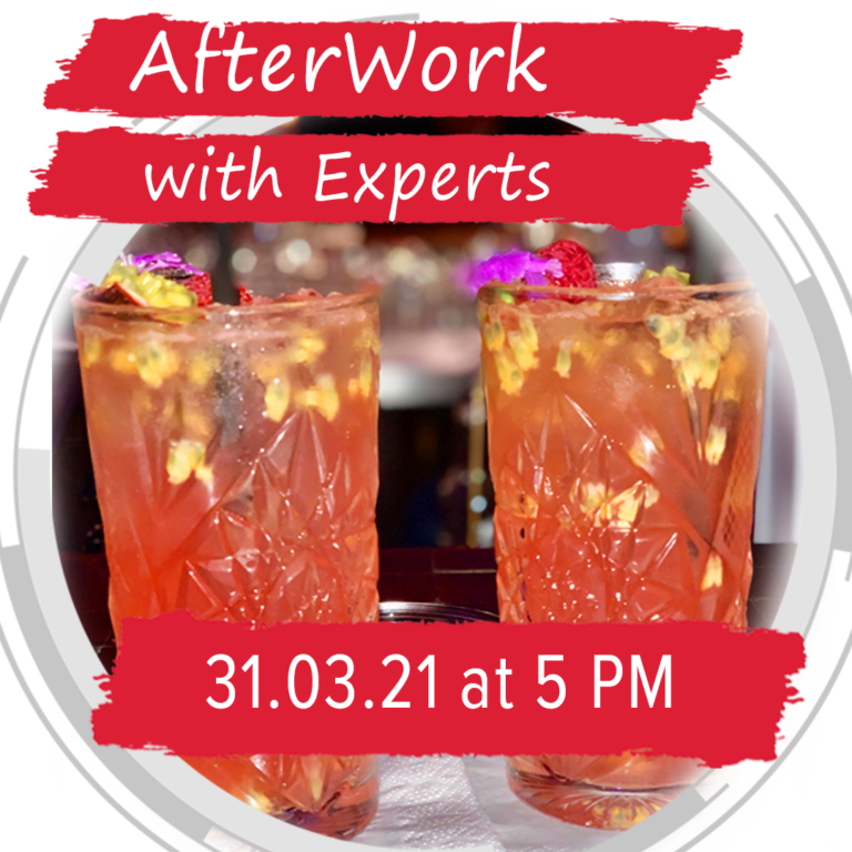 Afterwork With Experts Instagram 1080 X1080